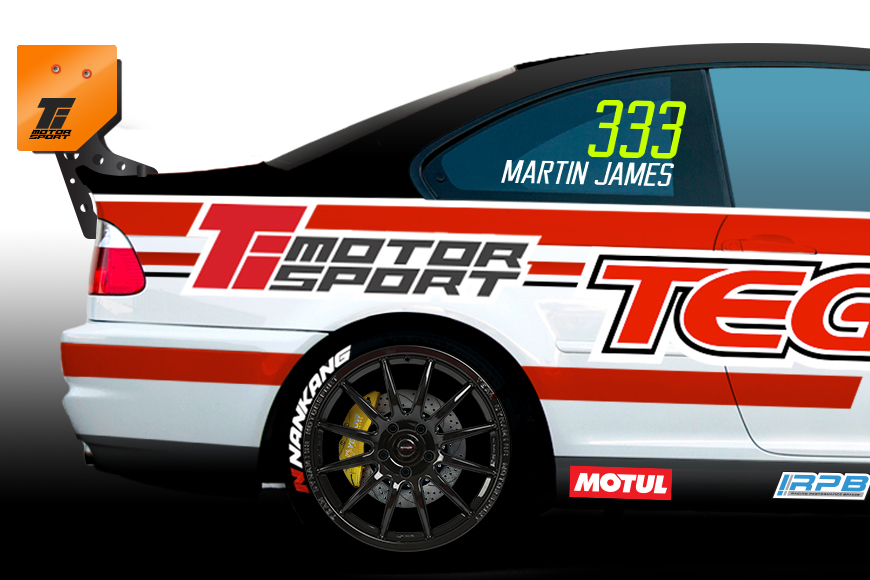 Martin James to join M3 Cup grid at Snetterton on 22nd April
